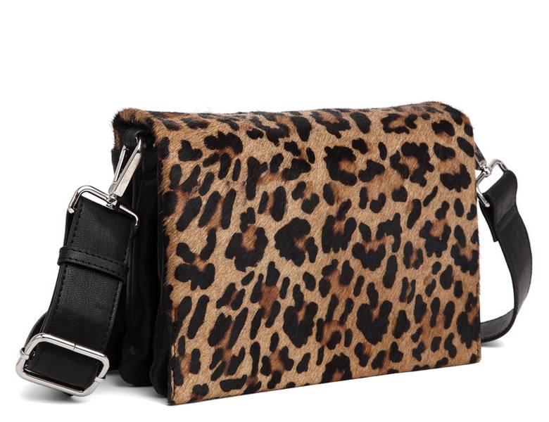 Adax Amalfi Shoulder Bag Sandra Leopard