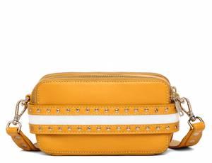 Bilde av Adax Berlin Shoulder Bag Catherine Yellow